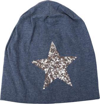 styleBREAKER star sequined slouch beanie, slouch longbeanie, silky, women 04024067  – Bild 14