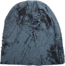 styleBREAKER destroyed vintage used look embellished slouch beanie, slouch longbeanie, unisex 04024068 – Bild 10
