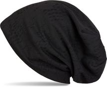 styleBREAKER destroyed vintage used look slouch beanie, slightly perforated, slouch longbeanie, unisex 04024070  – Bild 4