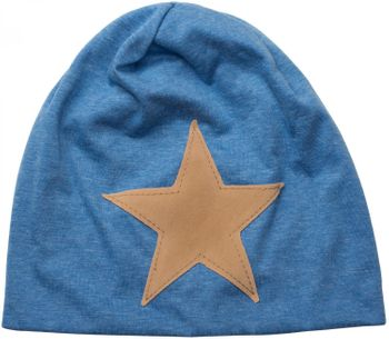 styleBREAKER slouch beanie with artificial leather star patch, slouch longbeanie, unisex 04024071  – Bild 18
