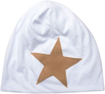 styleBREAKER slouch beanie with artificial leather star patch, slouch longbeanie, unisex 04024071  – Bild 17
