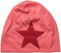 styleBREAKER slouch beanie with artificial leather star patch, slouch longbeanie, unisex 04024071  – Bild 26