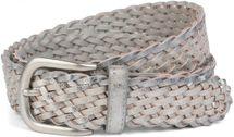 styleBREAKER braided vintage style belt, plaited belt, one size, unisex 03010063 – Bild 5