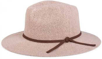 styleBREAKER Bogart hat, crumpled Fedora hat with imitation suede ribbon, cowboy hat, ladies 04025009 – Bild 6