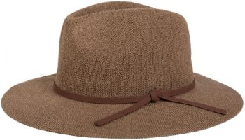 styleBREAKER Bogart hat, crumpled Fedora hat with imitation suede ribbon, cowboy hat, ladies 04025009 – Bild 5