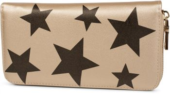 styleBREAKER all over stars design purse, circumferential zipper, wallet, ladies 02040044 – Bild 3