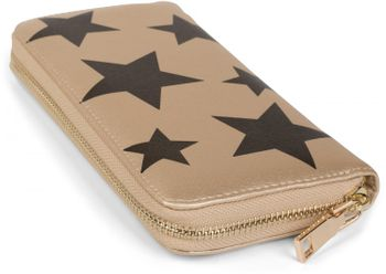styleBREAKER all over stars design purse, circumferential zipper, wallet, ladies 02040044 – Bild 7