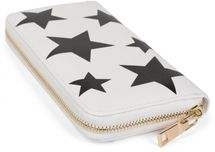 styleBREAKER all over stars design purse, circumferential zipper, wallet, ladies 02040044 – Bild 10