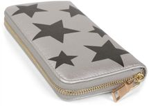styleBREAKER all over stars design purse, circumferential zipper, wallet, ladies 02040044 – Bild 9