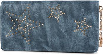 styleBREAKER Vintage Geldbörse mit Sterne aus Kugelnieten, umlaufender Reißverschluss, Portemonnaie, Damen 02040045 – Bild 1