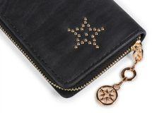 styleBREAKER ball rivets star design vintage purse, circumferential zipper, wallet, women 02040045 – Bild 10