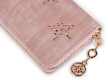 styleBREAKER Vintage Geldbörse mit Sterne aus Kugelnieten, umlaufender Reißverschluss, Portemonnaie, Damen 02040045 – Bild 11