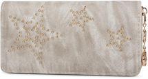 styleBREAKER ball rivets star design vintage purse, circumferential zipper, wallet, women 02040045 – Bild 7