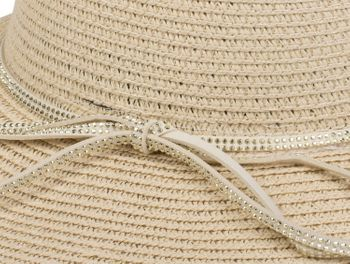 styleBREAKER straw hat with rhinestone ribbon and bow, sun hat, hat, ladies 04025011 – Bild 12