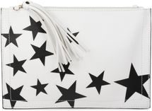 styleBREAKER star design clutch, tassel pendant upon zipper, wrist and shoulder strap, ladies 02012075 – Bild 5