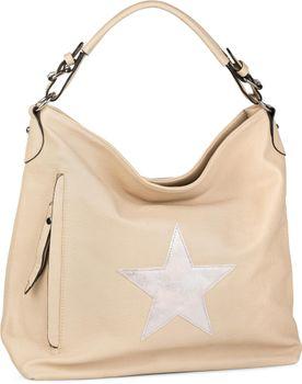 styleBREAKER Shopper Handtasche im Vintage Look mit Stern, Schultertasche, Umhängetasche, Damen 02012076 – Bild 11