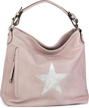 styleBREAKER Shopper Handtasche im Vintage Look mit Stern, Schultertasche, Umhängetasche, Damen 02012076 – Bild 13
