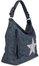 styleBREAKER Shopper Handtasche im Vintage Look mit Stern, Schultertasche, Umhängetasche, Damen 02012076 – Bild 6