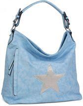 styleBREAKER vintage look shopper handbag with star, sling bag, shoulder bag, ladies 02012076 – Bild 4
