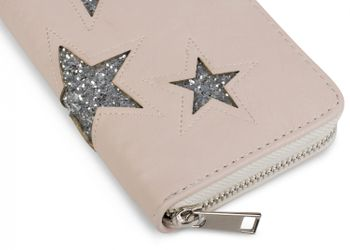 styleBREAKER sequined purse with star cutout print, circumferential zipper, wallet, women 02040046  – Bild 15