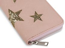 styleBREAKER sequined purse with star cutout print, circumferential zipper, wallet, women 02040046  – Bild 14