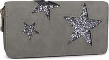 styleBREAKER sequined purse with star cutout print, circumferential zipper, wallet, women 02040046  – Bild 12