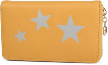 styleBREAKER Geldbörse mit Sterne Print, umlaufender Reißverschluss, Portemonnaie, Damen 02040047 – Bild 8