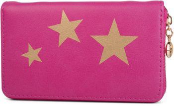 styleBREAKER Geldbörse mit Sterne Print, umlaufender Reißverschluss, Portemonnaie, Damen 02040047 – Bild 3