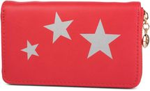 styleBREAKER purse with star print, circumferential zipper, wallet, ladies 02040047 – Bild 7