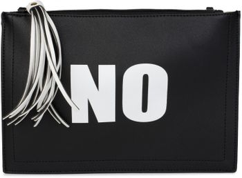 "styleBREAKER ""YES"" or ""NO"" print clutch, tassel pendant upon zipper, arm and shoulder strap, ladies 02012078 – Bild 1"