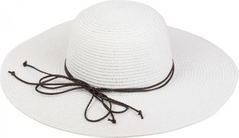 styleBREAKER Floppy straw hat with narrow ribbon, sun hat, hat, ladies 04025012 – Bild 6