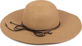 styleBREAKER Floppy straw hat with narrow ribbon, sun hat, hat, ladies 04025012 – Bild 10