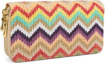 styleBREAKER zig zag pattern ethno design purse with, zipper, wallet, ladies 02040049 – Bild 2