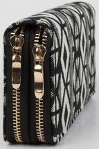 styleBREAKER ethnic-style wallet with diamond pattern, all-around zip, wallet, women 02040051 – Bild 7