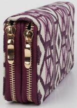 styleBREAKER ethnic-style wallet with diamond pattern, all-around zip, wallet, women 02040051 – Bild 6