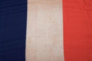 styleBREAKER Loop Schlauchschal im Frankreich Flaggen Vintage Design, Schal, Tuch, Unisex 01016116 – Bild 4