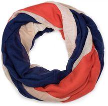 styleBREAKER French flag vintage design tube scarf, scarf, cloth, unisex 01016116  – Bild 1