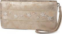 styleBREAKER Geldbörse mit Stern Nieten, umlaufender Reißverschluss und Handschlaufe, Portemonnaie, Damen 02040055 – Bild 7