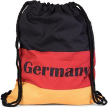 styleBREAKER gym bag rucksack with German flags design with 'Germany' Print, sports bag, unisex 02012080 – Bild 1