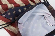 styleBREAKER Turnbeutel Rucksack im USA Stars and Stripes Vintage Design, Sportbeutel, Unisex 02012081 – Bild 3