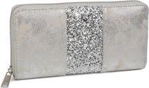 styleBREAKER wallet with all-around sequinned stripes, zip, wallet, women 02040056 – Bild 5