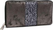 styleBREAKER Geldbörse mit umlaufendem Pailletten Streifen, Reißverschluss, Portemonnaie, Damen 02040056 – Bild 7
