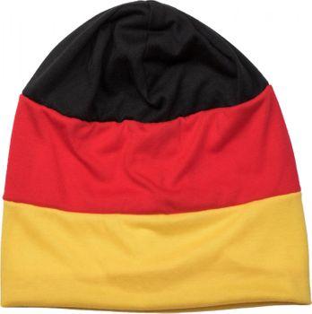 styleBREAKER Beanie Mütze im Deutschland Flaggen Design, Streifen Muster, Fanartikel, Unisex 04024072 – Bild 2