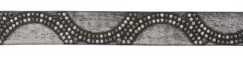 styleBREAKER vintage riveted belt with glittering rhinestones and rivets in circular arrangement, women 03010066 – Bild 19