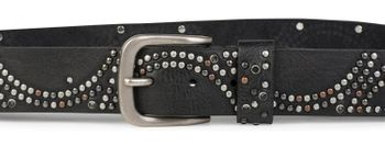 styleBREAKER vintage riveted belt with glittering rhinestones and rivets in circular arrangement, women 03010066 – Bild 13