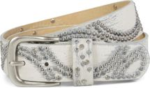 styleBREAKER vintage riveted belt with glittering rhinestones and rivets in circular arrangement, women 03010066 – Bild 30