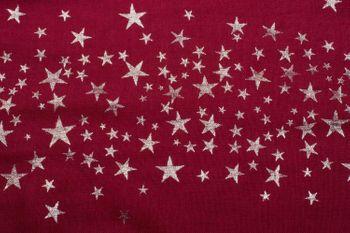 styleBREAKER Loop Schal mit glitzerndem Metallic Sterne All Over Print Muster, Schlauchschal, Tuch, Damen 01016118 – Bild 12