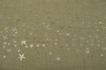 styleBREAKER Loop Schal mit glitzerndem Metallic Sterne All Over Print Muster, Schlauchschal, Tuch, Damen 01016118 – Bild 15