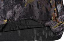 styleBREAKER Loop Schal im Splat Style mit Klecksen und Zeichen im Destroyed Vintage Look, Unisex 01016119 – Bild 9