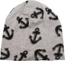 styleBREAKER Beanie Mütze im maritimen Anker Seil Print Look, Slouch Longbeanie, Unisex 04024082 – Bild 13